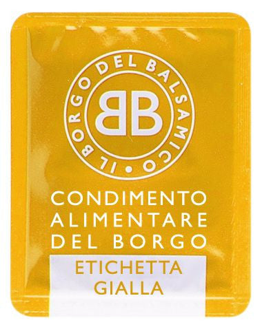 Italian Balsamic Condiment Sachets Yellow Label (50x6ml)