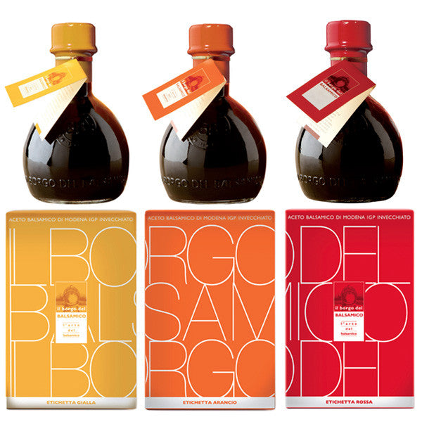 The Three Labels Italian Balsamic Vinegar Modena IGP 250ml