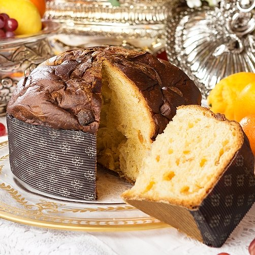 Dolce & Gabbana Panettone made by Fiasconaro Blue Red Tin 1KG