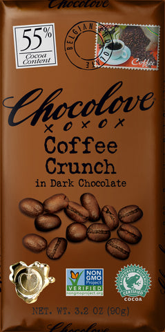 Chocolove Coffee Crunch Dark Chocolate