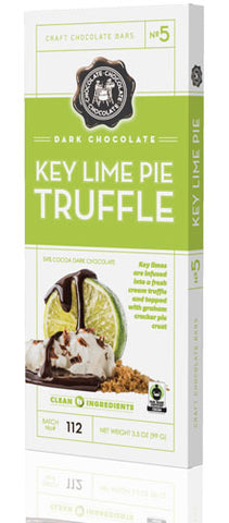 Dark Chocolate Key Lime Pie Truffle