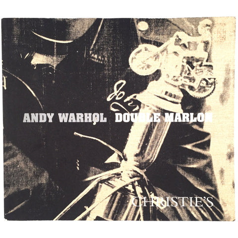 Andy Warhol Double Marlon cover