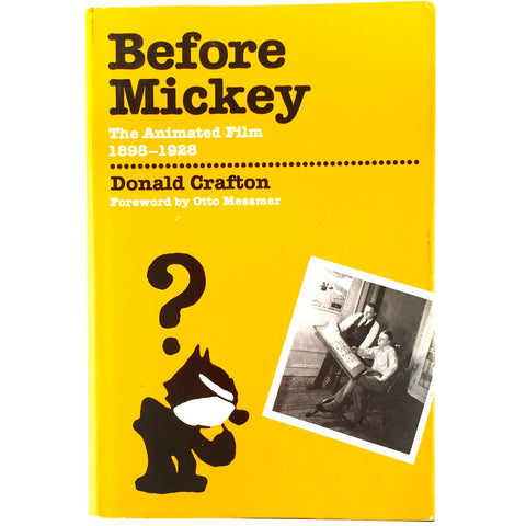 Before Mickey first edition cover