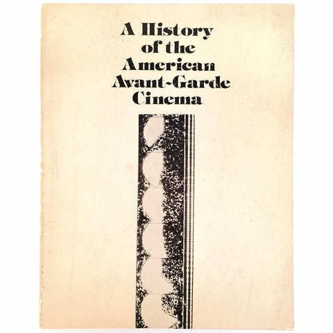 History of the American Avant-Garde Cinema cover
