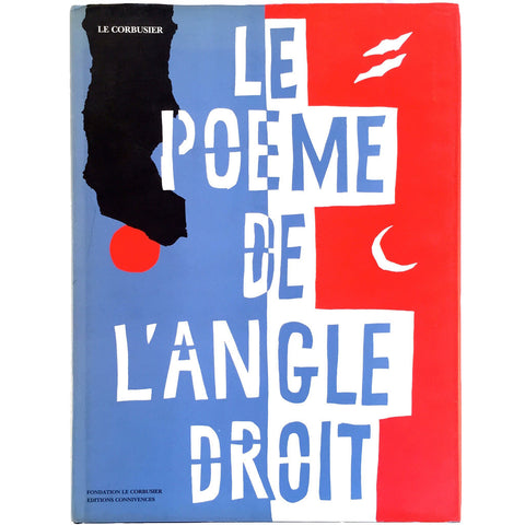 Le Corbusier Le Poeme De L'Angle Droit Poem of the Right Angle cover