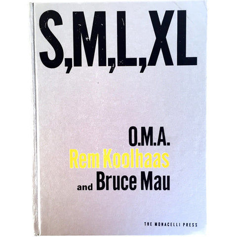 S,M,L,X,L Rem Koolhaas cover