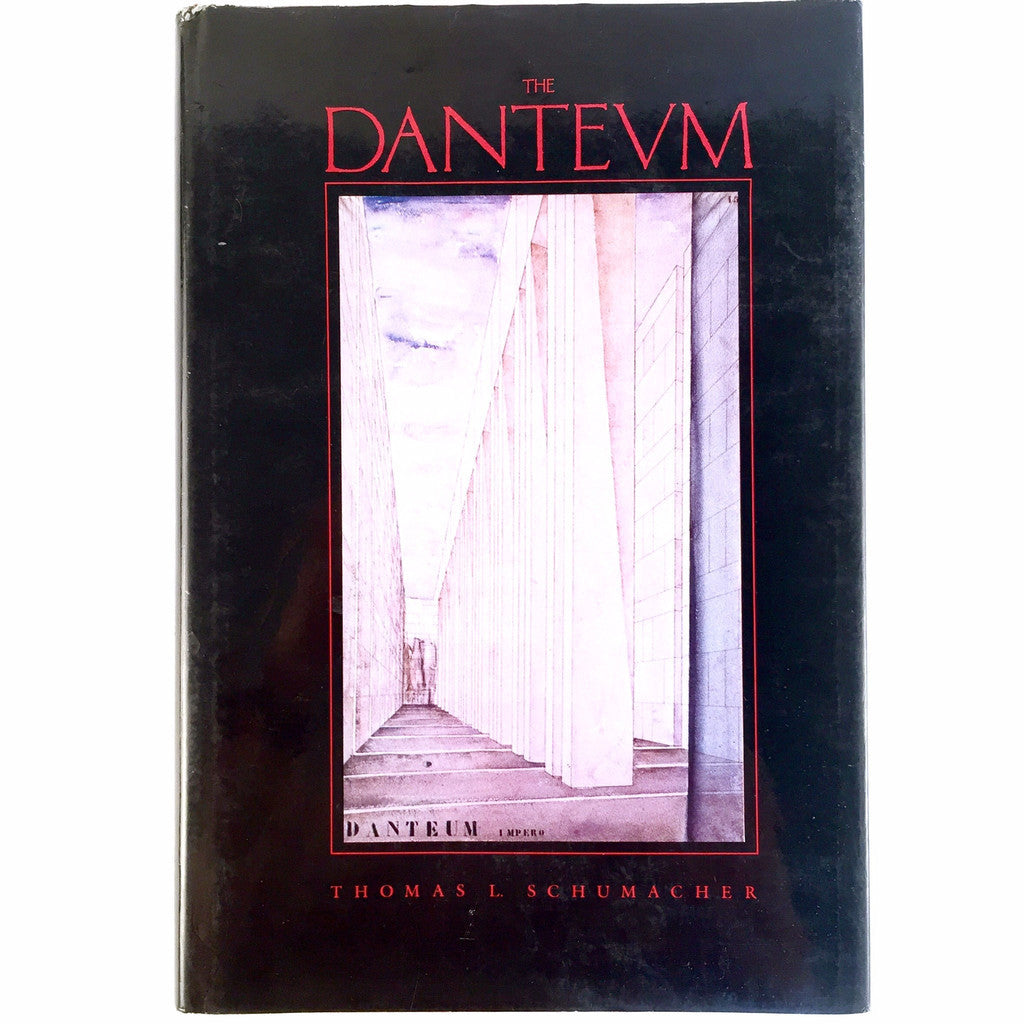 The Danteum Thomas L. Schumacher cover
