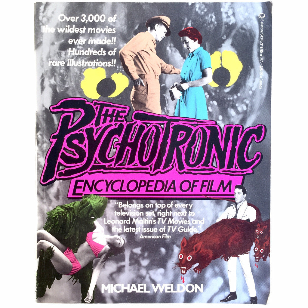 The Psychotronic Encyclopedia of Film cover