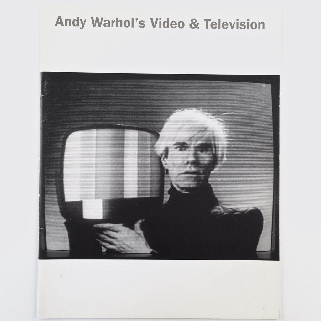Andy Warhol's Video & Television cover