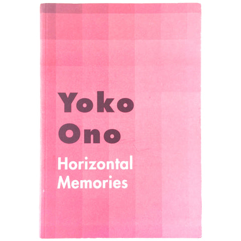 Yoko Ono Horizontal Memories cover