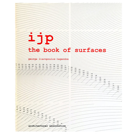 ijp: the book of surfaces cover