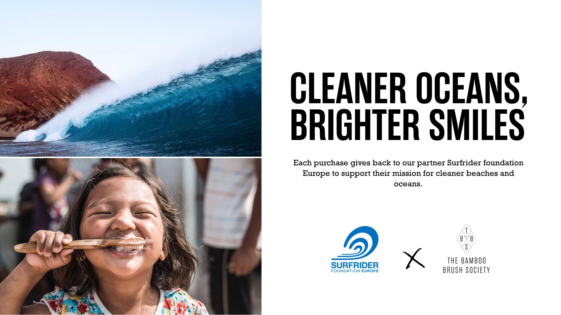 The Bamboo Brush Society and Surfrider Foundation Announce