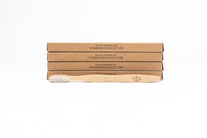 TBBS Gift Pack 6: Bamboo Toothbrush (4), Cotton Buds (2) & Travel Case (1)