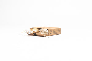 TBBS Gift Pack 1: Bamboo Toothbrush 4 pack & Cotton Buds 2 pack