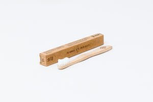 Bamboo Toothbrush 4-Pack Kids