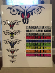 MadRam11 Logo Stickers