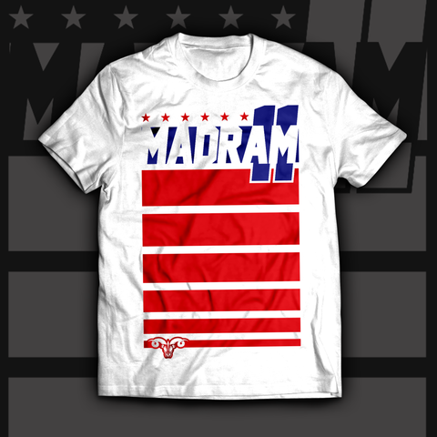 AMERICA Themed MADRAM11 T-Shirt