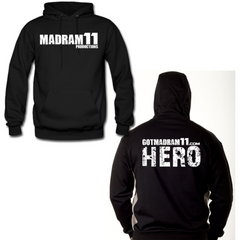 "MADRAM11 ""HERO"" HOODIES"