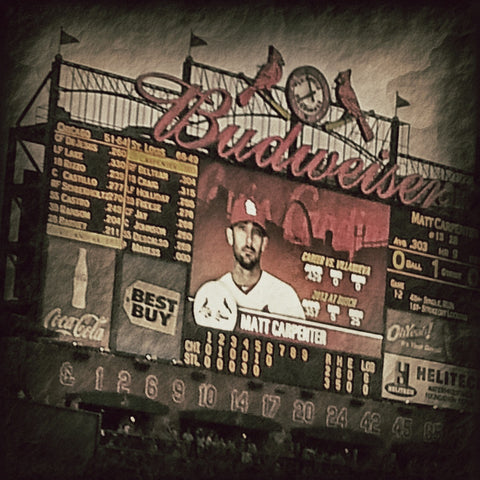 Cardinals - Carpenter Scoreboard