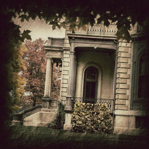Davis Mansion - Fall