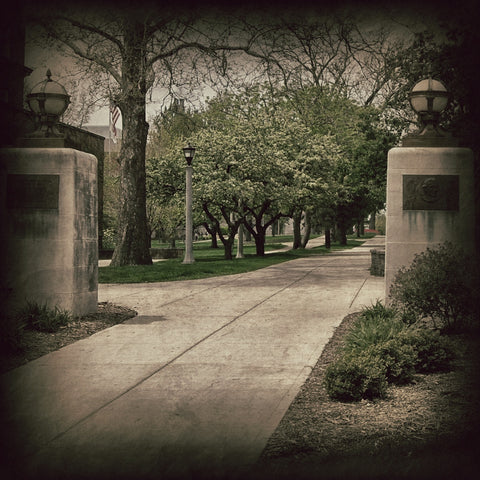 Illinois State University - Fell Gate - Spring