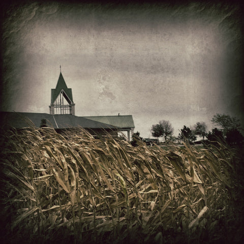 Calvary Methodist - from the corn
