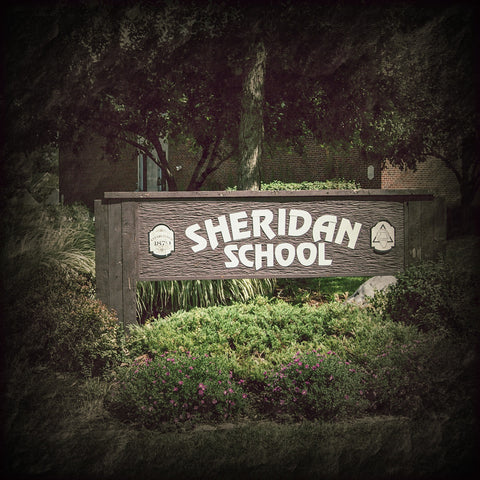 Sheridan School - Sign