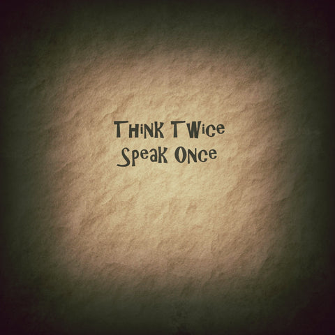 Think and Speak