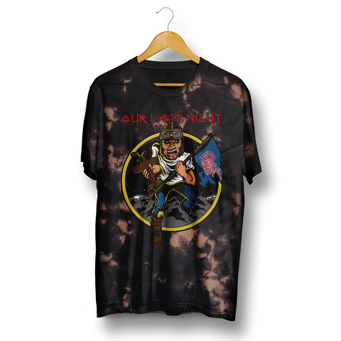 Iron Maiden Bleach Tee