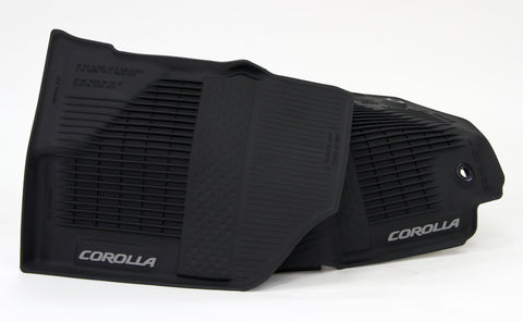 Tub Style All Season Floor Mats // 2017 Corolla
