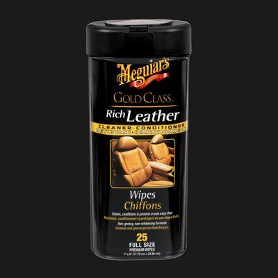 Meguiar's Leather Cleaner & Conditioner Wipes
