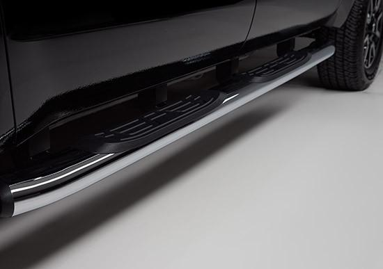 Side Step Bars - 5-inch Chrome // 2007-2018 Tundra