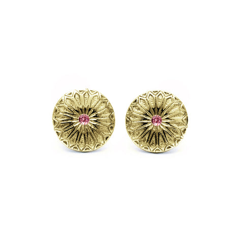 Fenestra Tourmaline Earrings