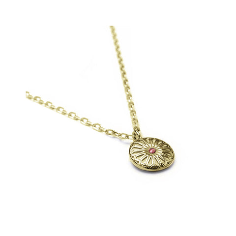 Gold Tourmaline Necklace