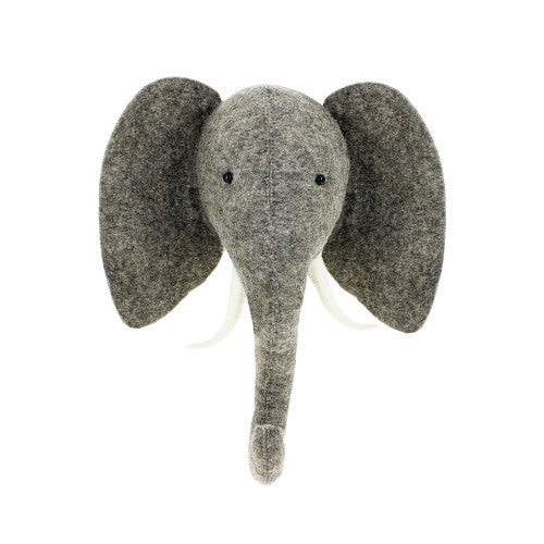 Semi Elephant Head by Fiona Walker