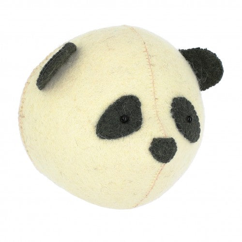 Mini Panda Head by Fiona Walker