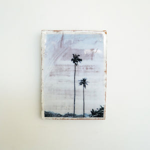 AHOY - Mini Tile, Two Palms