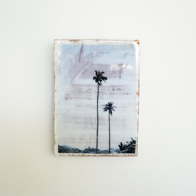 AHOY - Mini Tile, Two Palms / بلاط