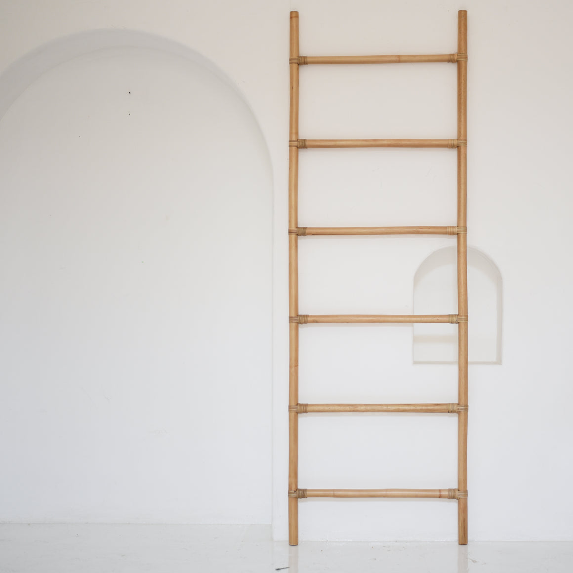 Bamboo Tall Ladder / سلم