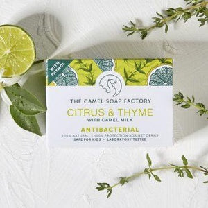 Natural Camel Milk Soap, Sadu Collection - Citrus and Thyme