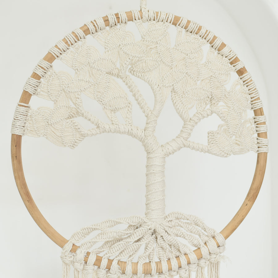 Macrame Tree of Life Wall Hanging