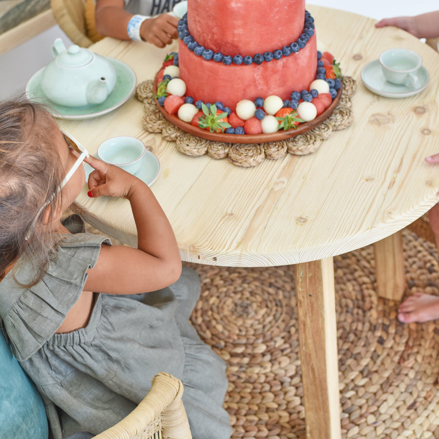 PEG+ Round Kids Table by Tribe