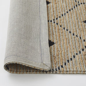 TRIBE Collection - Sandstorm Rug, Jute & Wool  / سجادة