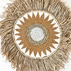Raffia Star - Wall Decorations