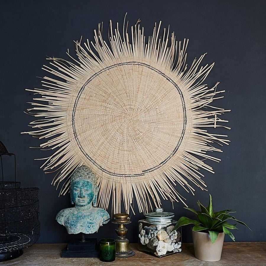 Malawi Sun Circle Wall Hanging