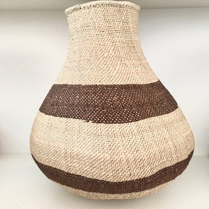 Binga Pot, Brown Stripe