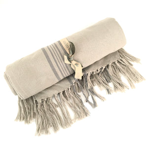 Weaver Green Antibes Throw - Grey
