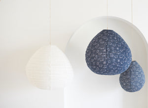Lumiere Light Shades, Zoo Life Shade - Charcoal/Indigo