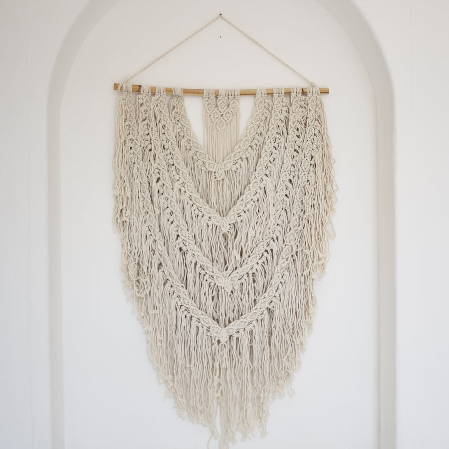 Macrame Wall Hanging, Medium