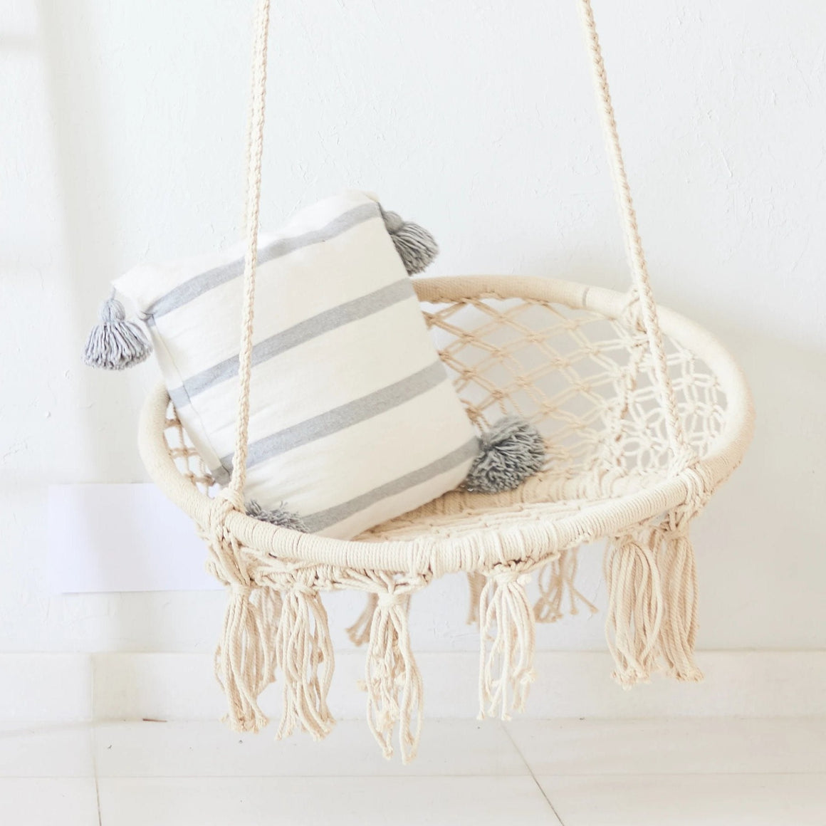 Round Macrame Hanging Chair
